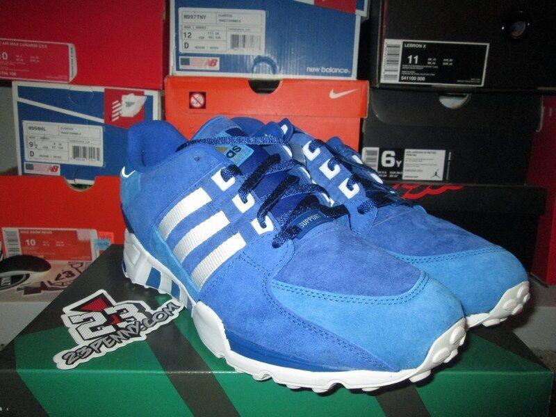 Adidas EQT corriendo de Apoyo de Tokio Japón azul blanco orientación talla 8