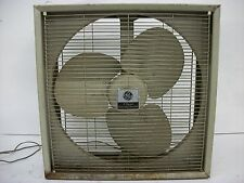 Vintage GE 3 Speed Box Fan Electrically Reversible Great Working Condition