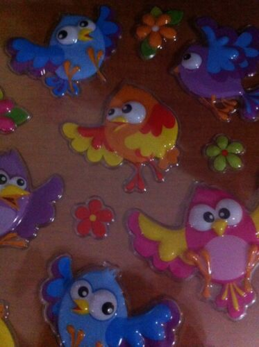 Reward Sticker Education About Fly Sky Animal 20 Bird /& 8 Flower Mix Sticker
