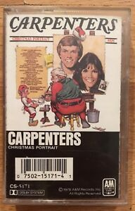 Carpenters Christmas Portrait.Details About Carpenters Christmas Portrait Cassette Tape Karen Richard Holiday