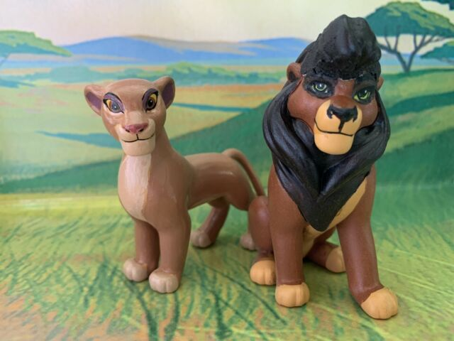 Custom lion king kovu figure