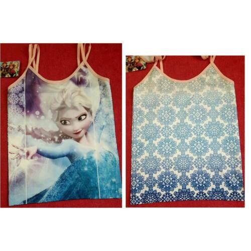 9//10 /& 11//12 YEARS Primark Girls Vest DISNEY FROZEN SIZE
