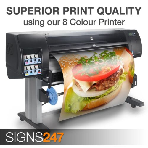 FREE P/&P! Full colour MATT Poster Printing Service A0 Poster Printing