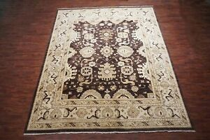 12X15-Brown-Oushak-Hand-Knotted-amp-Vegetable-Dyed-Rug-12-2-x-14-9