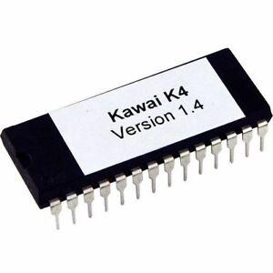 Detalles de Kawai k4 version 1 4 firmware Latest OS Update Upgrade EPROM