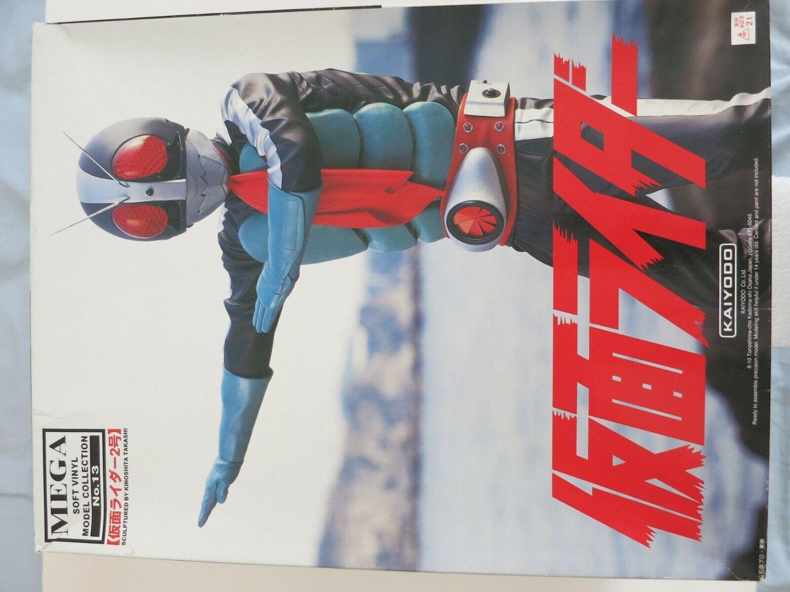 16 Kaiyodo MEGA RACCOLTA vinile Soft Kamen MASKED RIDER n. 2 Kit modellolo Di cifra