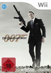 Wii-Bond-007-Ein-Quantum-trost-Quantum-of-Solace-dans-l-039-emballage-utilise