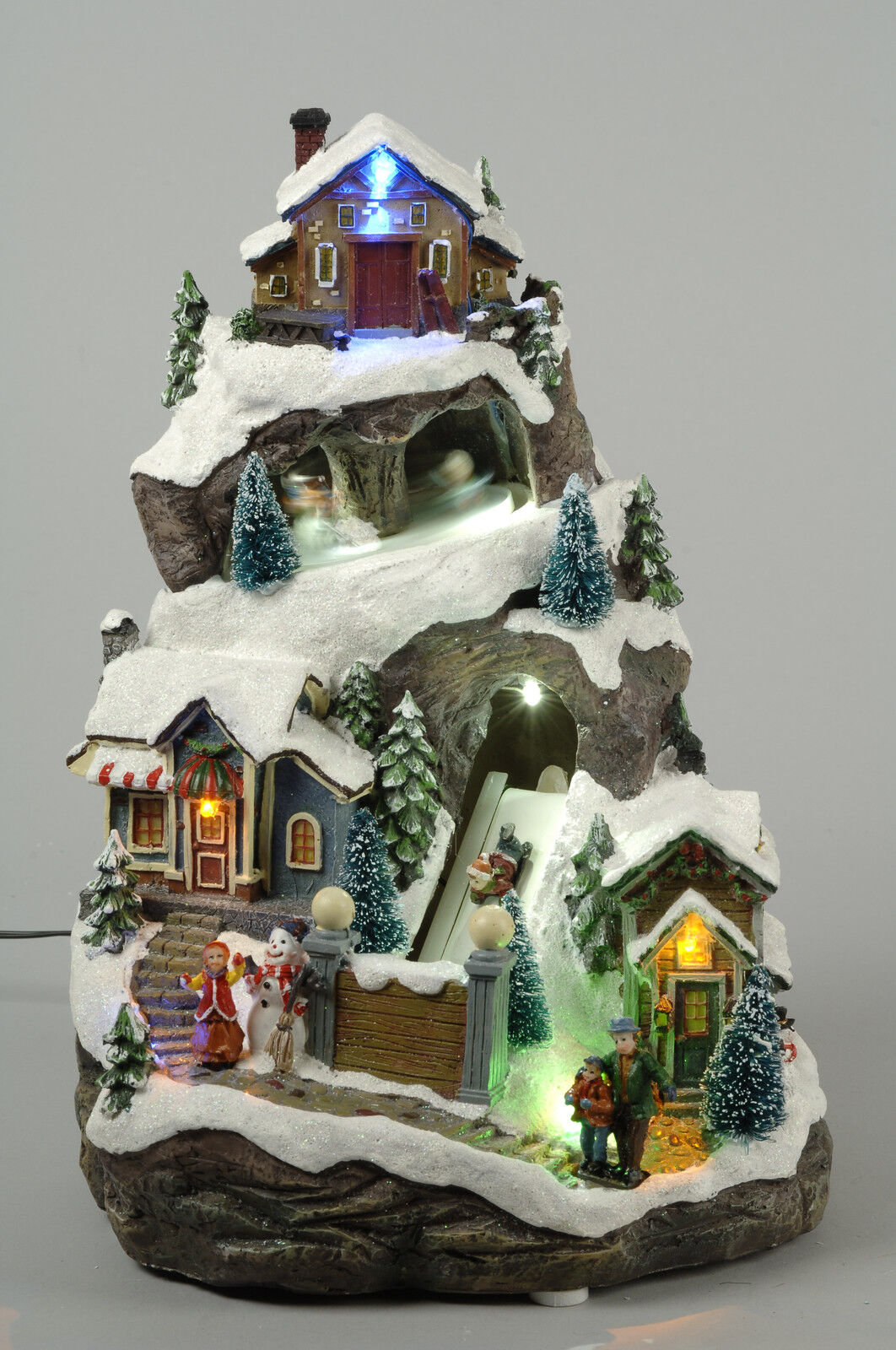 VILLAGGIO NATALIZIO A LUCI LED Neve Addobbi Natale Decorazioni Natalizie 481304