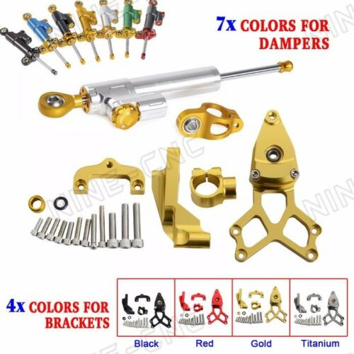 CNC Steering Damper with Mounting Kit For Honda CBR1000RR 2008-2016