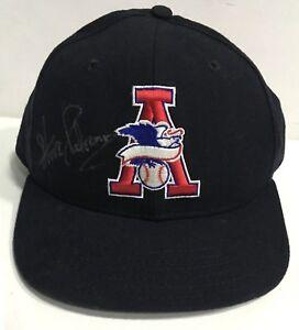 378526e70af19 Steve Palermo signed American League AL Umpire hat autograph rare ...