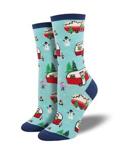 Socksmith-Ladies-Camper-Caravan-Gift-Christmas-Secret-Santa-Socks-LilyRosa