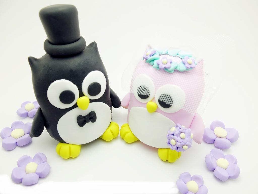 Vous êtes en bonne santé pour la nouvelle Hiboux année. Hiboux nouvelle jeunes mariés hochzeitstortenfiguren tortenschmuck d6f528