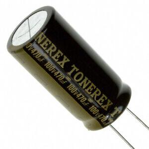 Elna Rob tonerex audio condensador 47uf 100v 10x20 85 ° C rm5 #bp 4 PCs