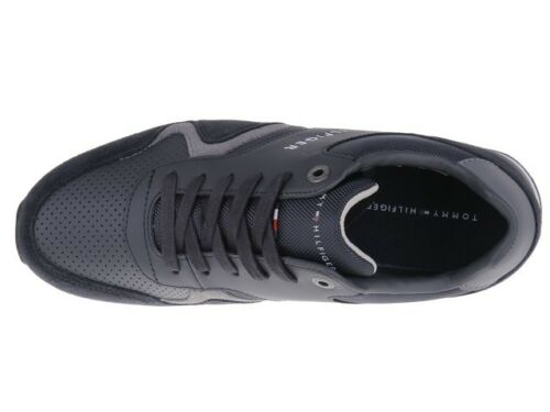 Sneaker Tommy Hilfiger Iconic Leather Textile FM0FM01732-403