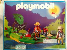 New Sealed Playmobil 3042 Jungle Safari Expedition River Raft