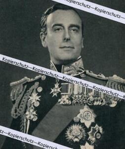 Lord Louis Mountbatten von Burma - Nato - Flottenchef   um 1950/55  Z 37-15