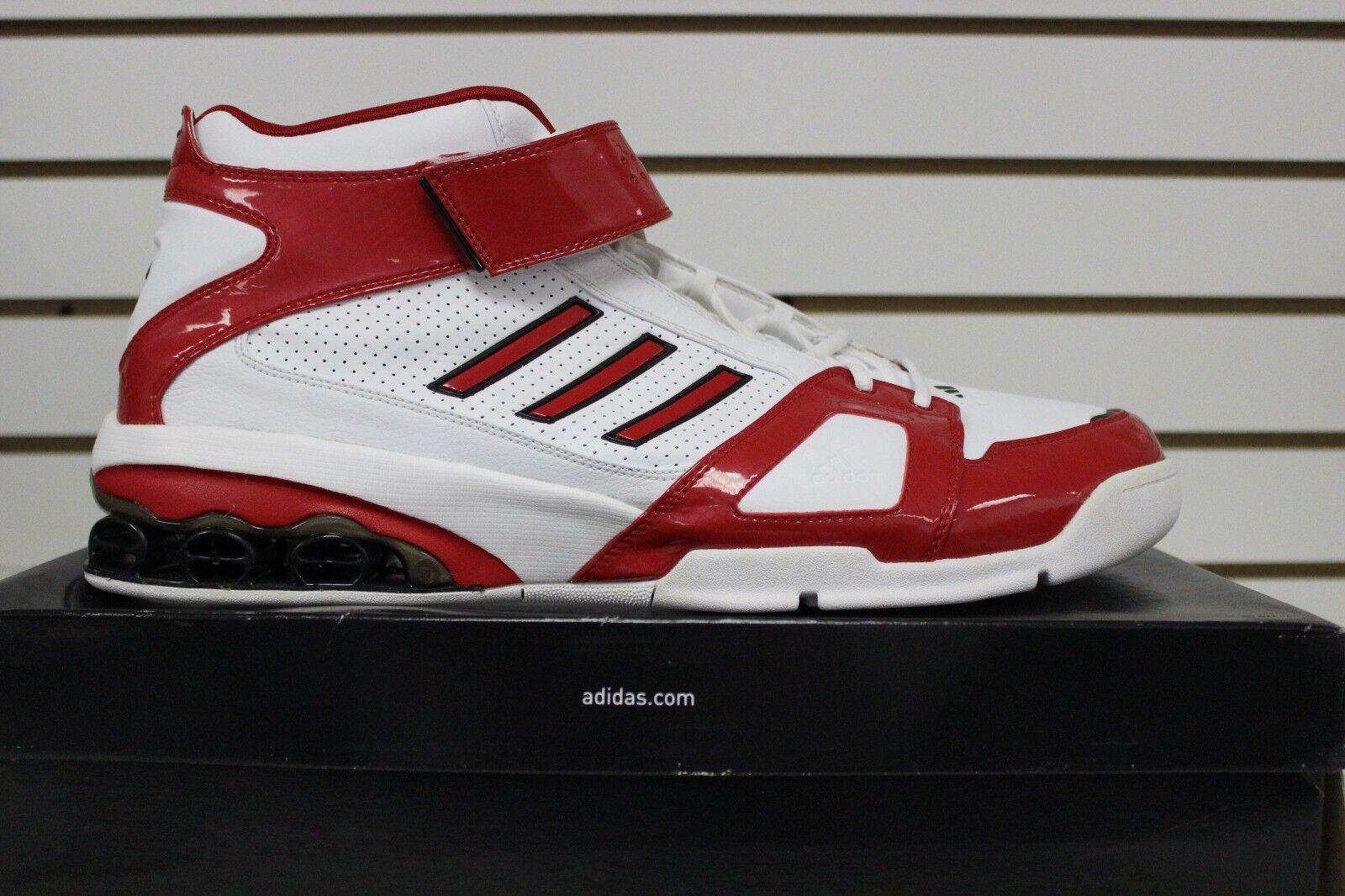 Los hombres de baloncesto de la NBA Adidas 667473 AST j-smoov Josh Smith 667473 Adidas blanco / rojo / negro 89637a