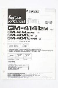 image is loading pioneer-gm-4141zm-4041zm-zm-91-power-amp-