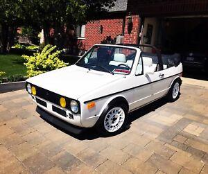 1986 vw Cabrio