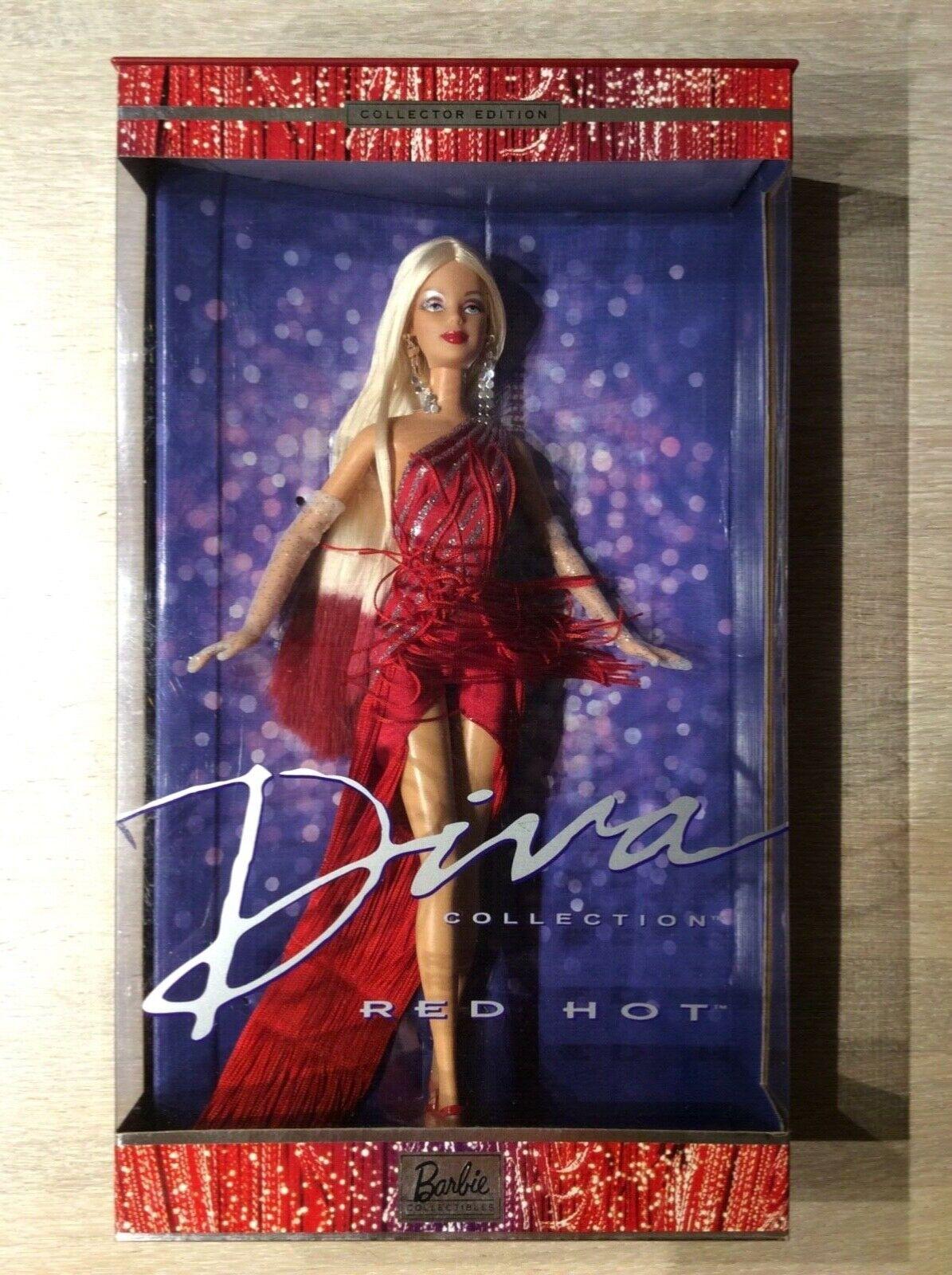 BARBIE BARBIE BARBIE  DIVA COLLECTION rosso caliente  dtuttia collector edizione in confezione originale f0e232