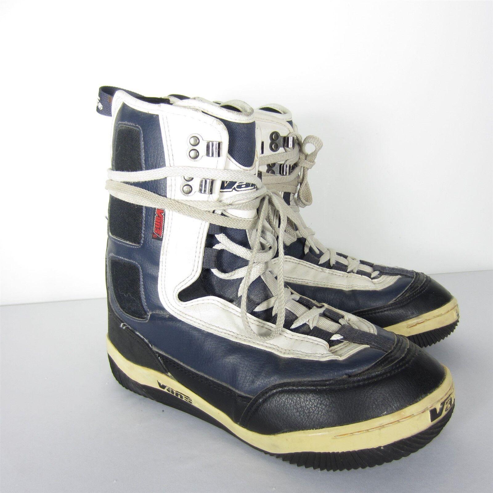 Vintage Vans DINO Snowboarding Boots Retro Laces Mens Size 10