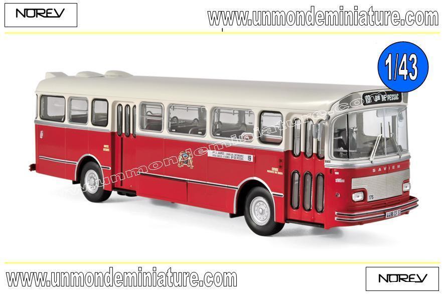 Saviem S105M 1969 Bordeaux NOREV - NO 530040 - Echelle 1 43