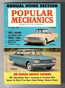 Popular-Mechanics-1959-Magazine-Chevy-Corvair-Falcon-Valiant-Annual-Home-Section