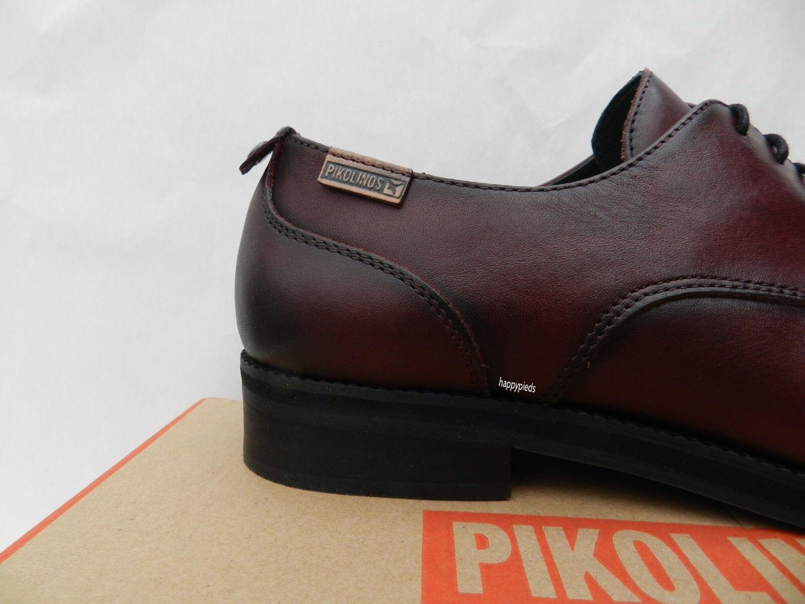 Pikolinos Royal shoes Femme 40 Derbies Bordeaux Bordeaux Bordeaux Ballerines W5M 4566 New UK7 cbcaa6