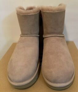 d0cae7b71ec Details about New - Women's Ugg Mini Bailey Bow II Glam W/Dusk Short Boots  Size 7