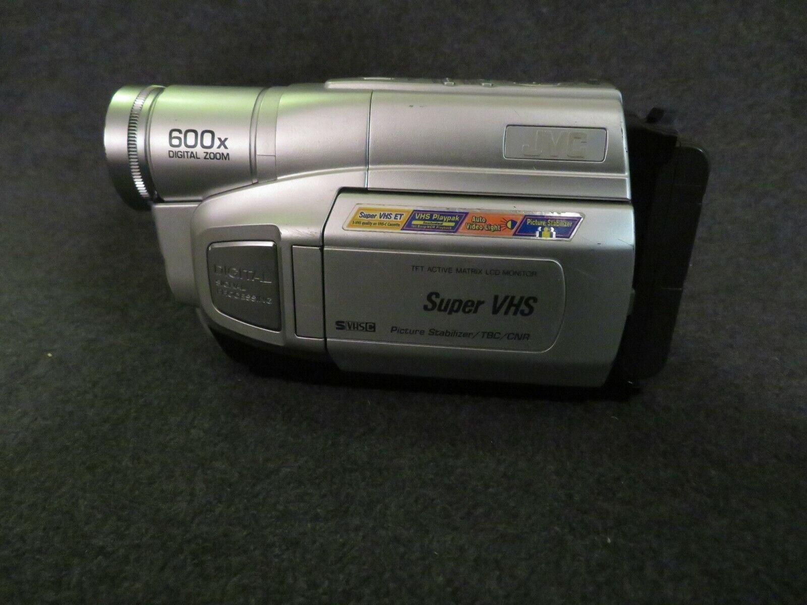 Jvc Gr Sxm250u Svhs Camcorder 600x Zoom Working Very Good For Sale Online Ebay