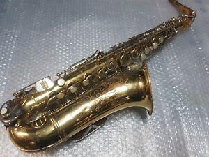 Inventif 1969 Conn Alt/alto Sax/saxophone-made In Usa-afficher Le Titre D'origine De Nouvelles VariéTéS Sont Introduites Les Unes AprèS Les Autres