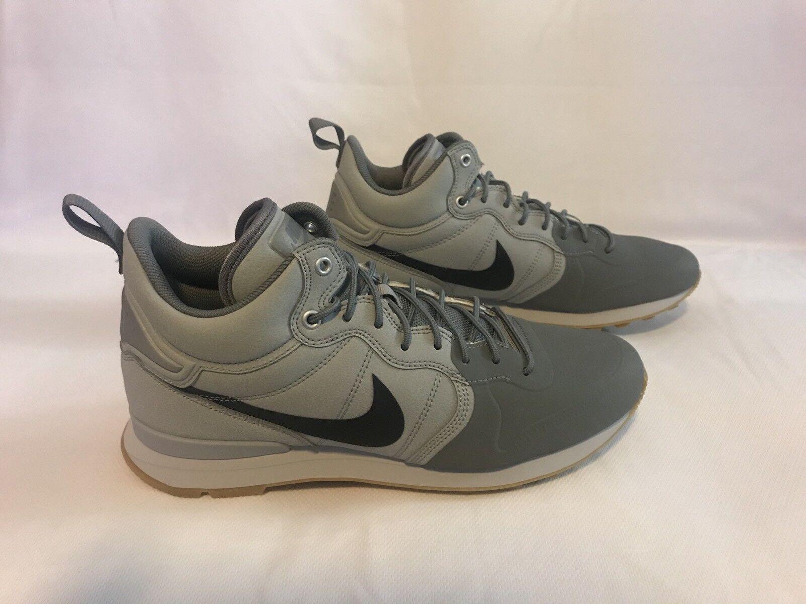 Men's Nike Internationalist Utility 857937-002 Grey Black Anthracite S 8.5