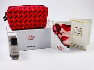 CHANEL COCO MADEMOISELLE 1,5ml Tasche coco flash + rouge + cleansing oil