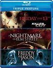 Friday The 13 Th Nighmare on Elm Fredd 0883929231584 Blu Ray Region a