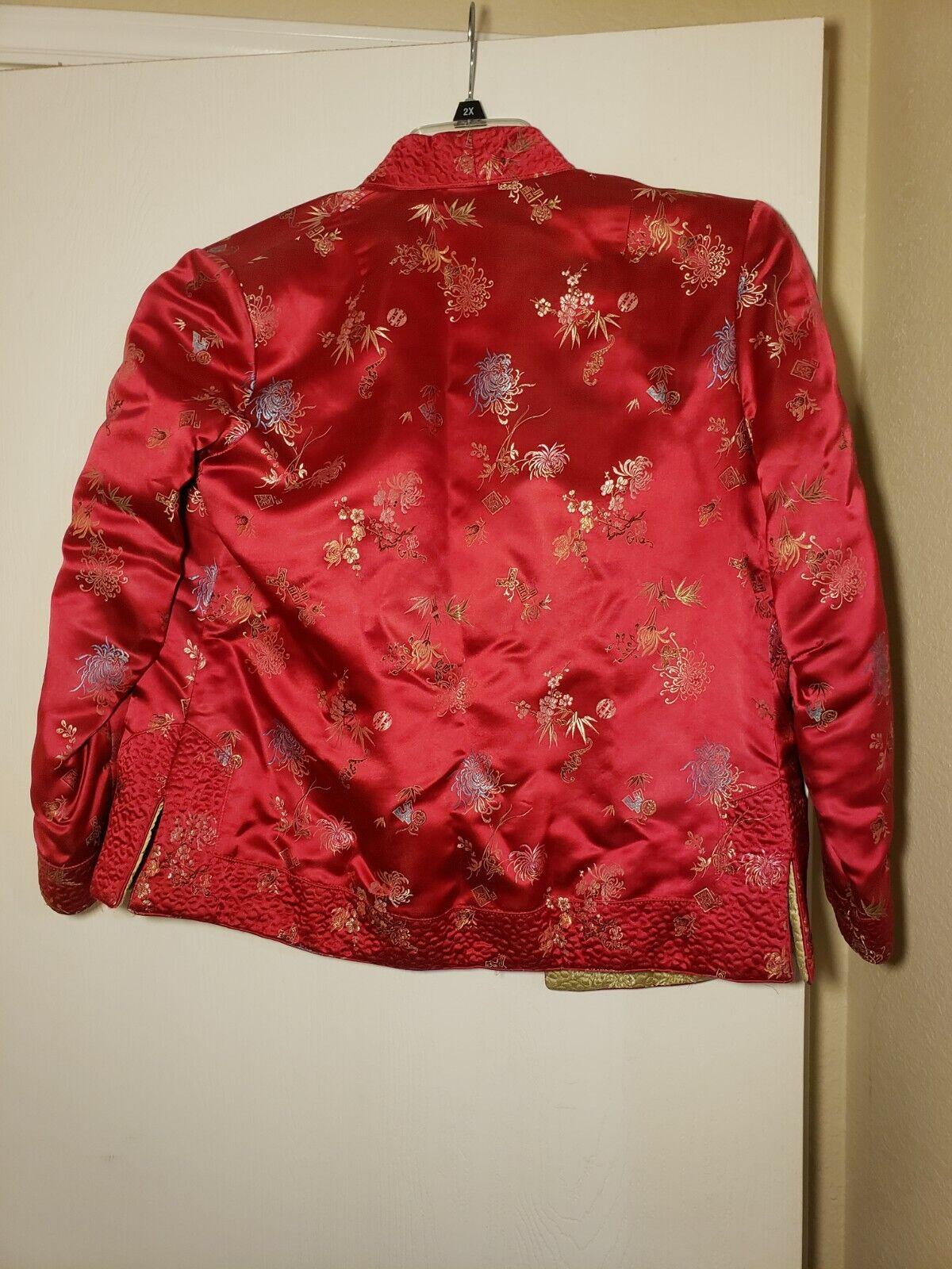Qipao Long Sleeve Top Brocade - image 2