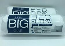 Queen Size  White Brand New The Big One Microfiber Pillow Standard