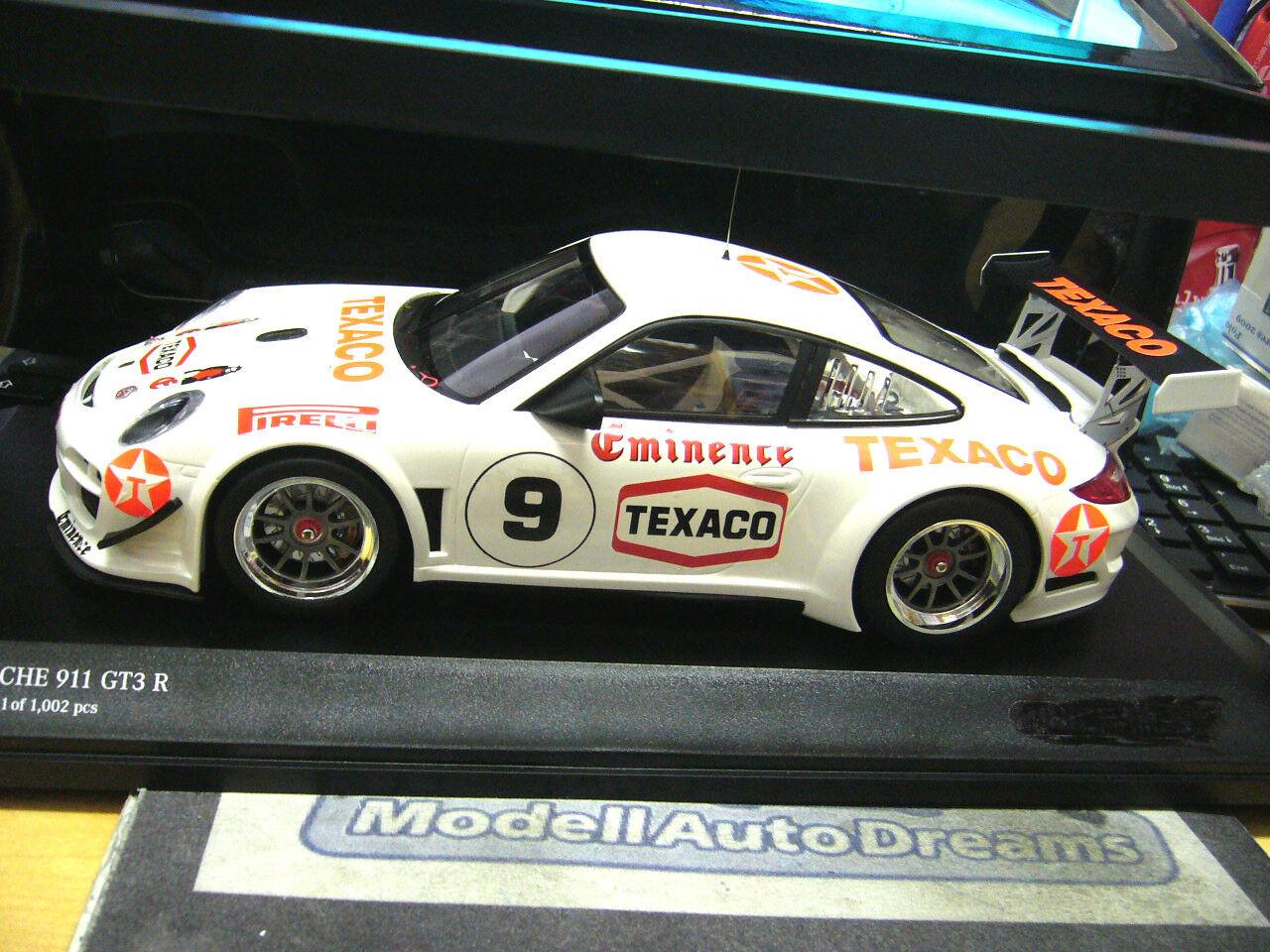 Porsche 911 997 gt3 R racing 2010 texaco Eminence transformación transformación transformación einzelst. based min 1 18 e90d4e