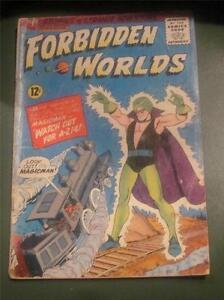 Forbidden-Worlds-126-ACG-Comics-Herbie-promo-1960-039-s-GD-VG