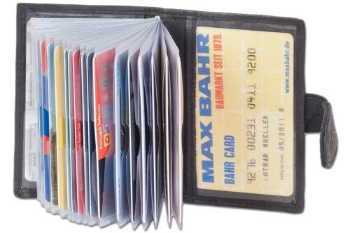 Kartenetui Kreditkartenetui Visitenkartenetui Scheckkartenetui schwarz Leder Neu