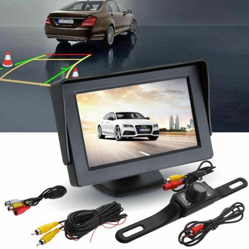 "4.3/"" TFT LCD Monitor Car Back up Rear View Parking System Night Vision Camera"