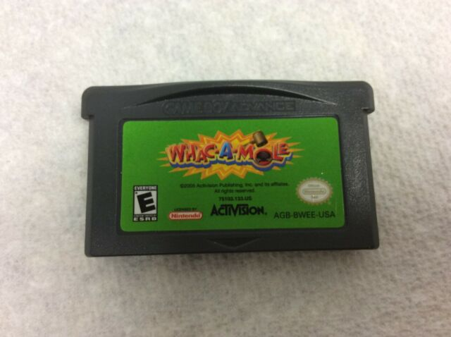"Nintendo Gameboy Advance ""WHAC A MOLE"" Game  **LOOK**"
