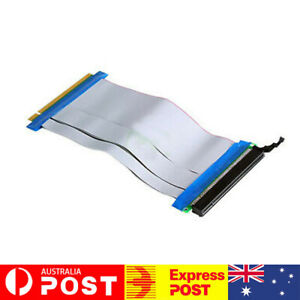 PCI-E-PCI-Express-16X-Riser-Card-Flex-Flexible-Ribbon-Extender-Extension-Cable