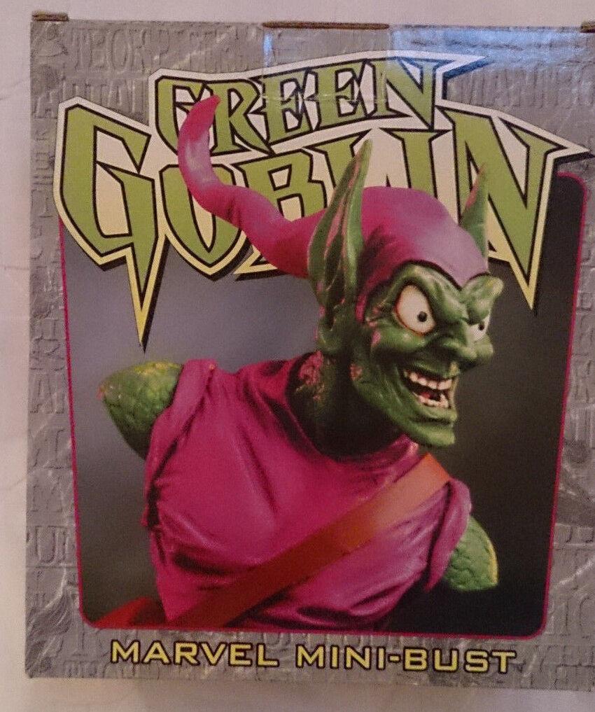 Marvel comics bowen  spider - man  Grün goblin mini - pleite   statue mit box