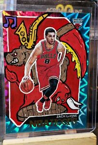 2018-19 Panini Hoops Zach Lavine Custom SP #1/1 Chicago Bulls!