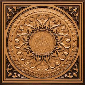 Diy Decorative Pvc Ceiling Tiles 226 Antique Gold Ebay