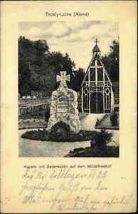 1915-Feldpost-AK-CPA-Trosly-Loire-Aisne-Westfront-Frankreich-Militaer-Friedhof