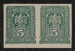 Mexico-Revolution-Scott-369-5c-pair-imperf-MNH