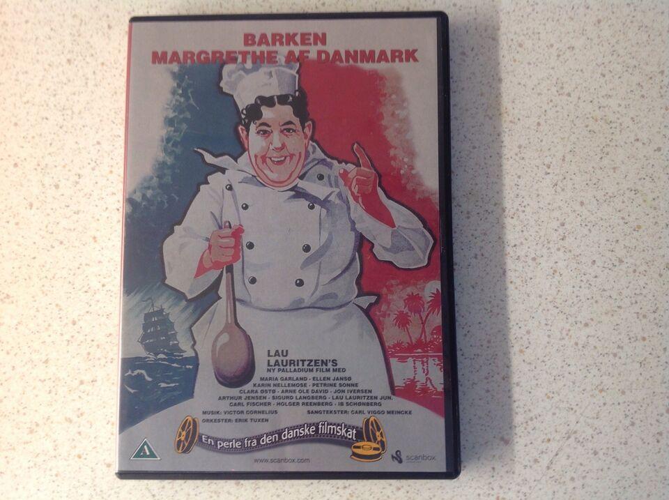 Barken Margrethe af Danmark , DVD, drama