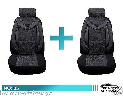 Mercedes B Klasse W245 Maß Schonbezüge  Sitzbezüge Fahrer /& Beifahrer 05