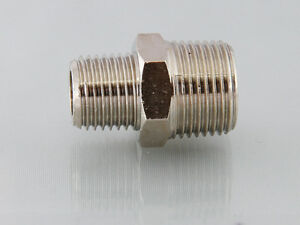 Bsp Male to Male Stainless Steel 316 Reducing Adapters ,Reducing Hexagon Nipples